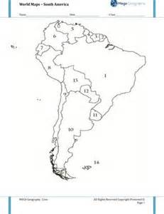 map quiz south america and quizes on