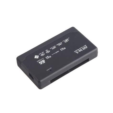 Usb 20 Ms Sd Mini Sd Micro Sd Card Reader Multifungsi Microsd usb 2 0 card reader all in 1 sd micro sd m2 xd cf ms memory stick