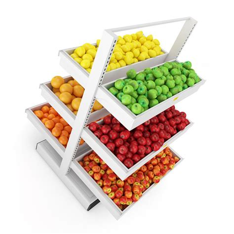Shelf Of Fruit fruit shelf 3d model max obj fbx c4d mtl cgtrader