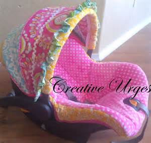 Make Seat Cover For Car Creative Urges Creative Infant Car Seat Cover
