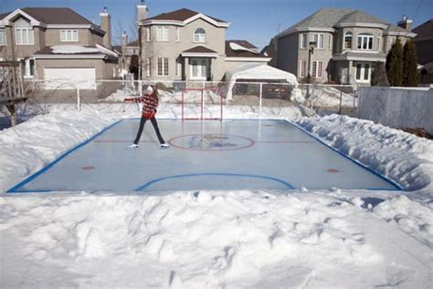 backyard ice skating rink kits backyard ice rink kit outdoor furniture design and ideas