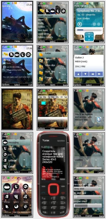 themes nokia s40 240x320 dmc quot theme for nokia s40 240x320 quot by yurax файлы патч