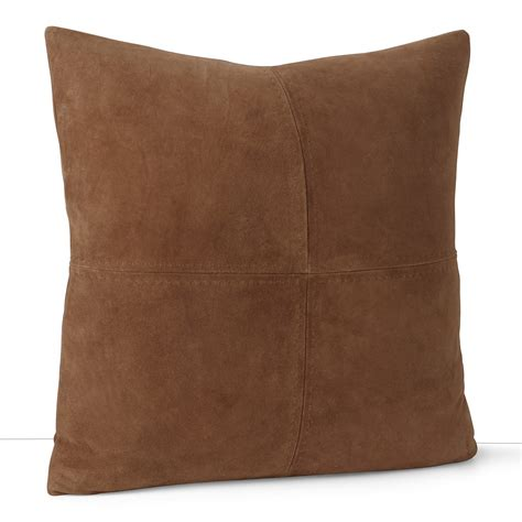 Suede Throw Pillow by Ralph Suede Throw Pillow 18 Quot X 18 Quot Bloomingdale S