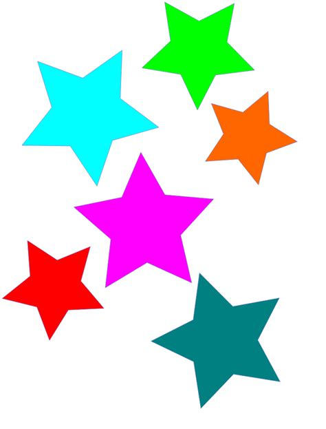 printable star clip art free to use public domain stars clip art