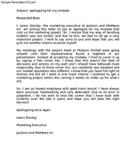 Professional Apology Letter To Professional Apology Letter To Sle Sle Templates