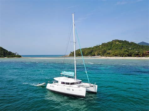 catamaran yacht tour sailing catamaran quot blue coco quot yachts tours on koh samui