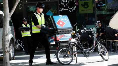 domino pizza nz domino s pizza will be delivered by e bikes later this