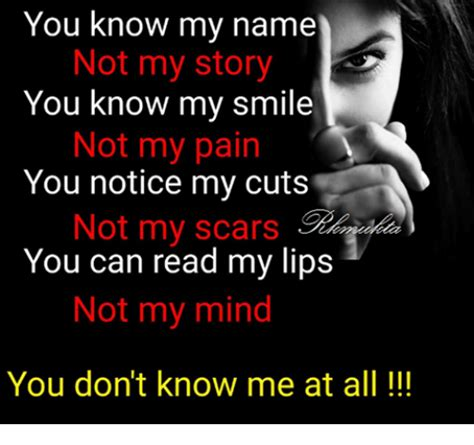 You Don T Know Me Meme - 25 best memes about scars scars memes