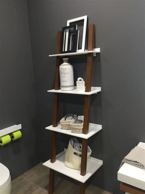 ladder shelf bathroom bathroom ladder shelves oak shelf ladder furniture graham and green cottage