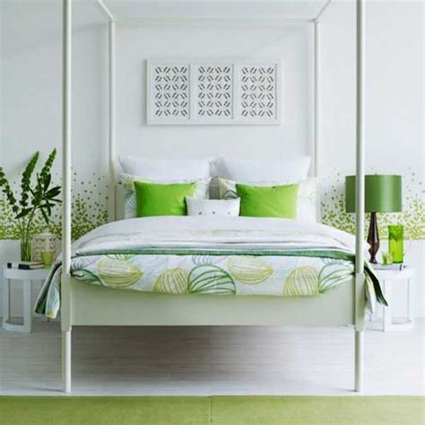 green and white bedroom 20 fresh bedroom decorating ideas blending modern color