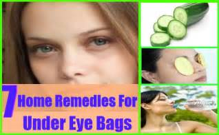 simple home remedies for eye bags
