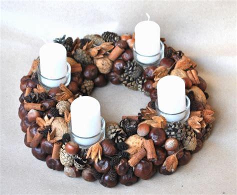 Handmade Advent Wreath - 16 beautiful handmade wreath designs style