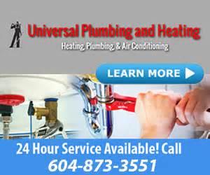 an u universal plumbing and heating vancouver
