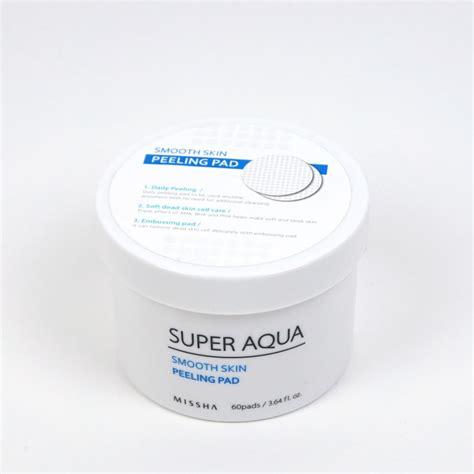 missha peeling pad missha aqua smooth skin peeling pad review