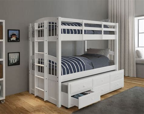 Bunk Bed With Trundle And Drawers Bunk Bed With Trundle And Storage Drawers Best Storage Design 2017
