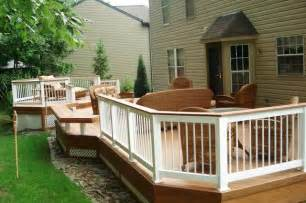 Rounded Benches Low To Grade Decks Columbus Decks Porches And Patios By