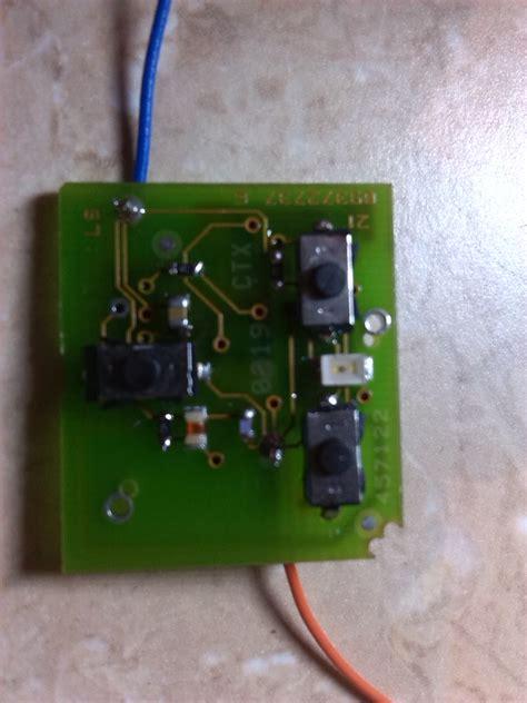 dioda w pilocie mikro zamek