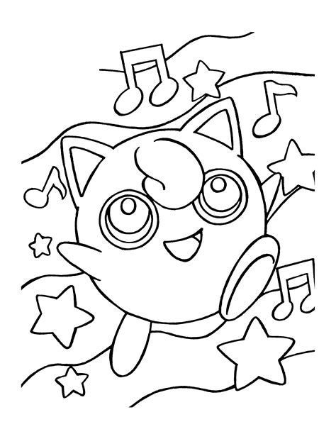 coloring pokemon coloring pages 203