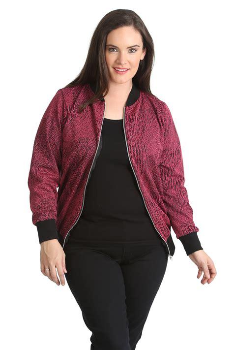 Uzumaki Zipper Jacket Ja Nrt 22 new plus size bomber jacket womens ribbed sale zip