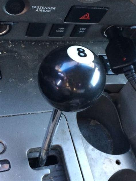 custom made 8ball shift knob to fit all years nissan titan