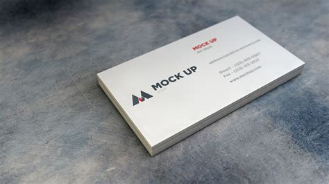 what company makes cards realistic business card mockup 2 graphicburger