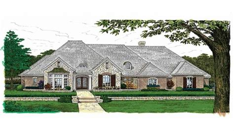 french country one story house plans country cottage house plans french country house plans one