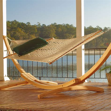 Rope Hammock With Stand Hammocks