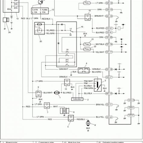wiring diagram ac mobil panther k