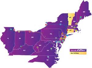 Ez Car Rental Md E Zpass 174 New Jersey Participating Toll Facilities