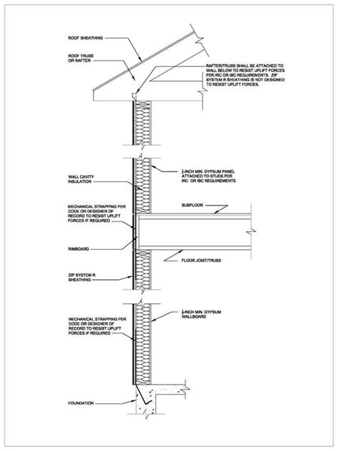 residential wall section detail typical wall section detail related keywords suggestions