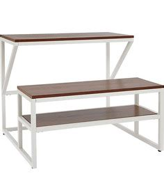 Study L Flipkart by Albert Study Table In Brown Colour By Arts