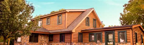 Concrete Log Cabins by Concrete Log Cabin Homes And Concrete Log Cabin Siding Everlog Systems