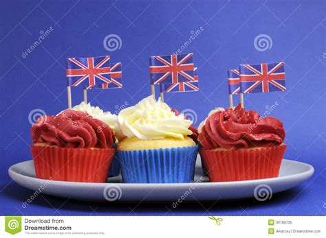 english themes com english theme red white and blue cupcakes with great