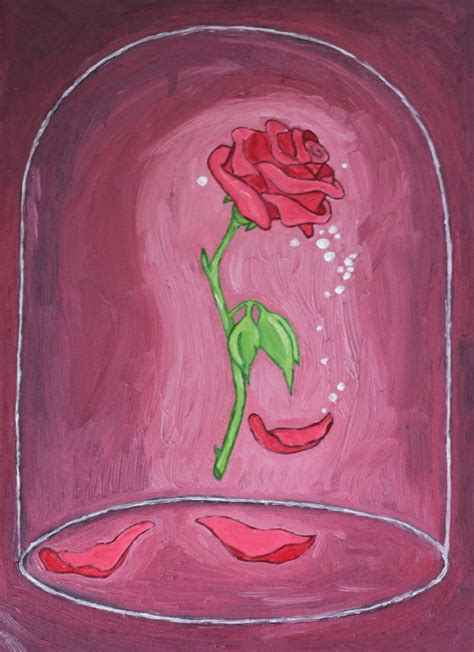 rose in beauty and the beast beauty and the beast rose by crestfallenrequiem on