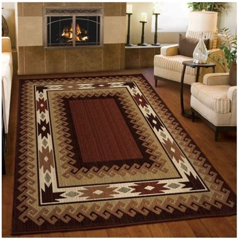 area rugs for log cabin homes 5x8 lodge area rug southwestern log cabin carpet western style indoor cottage ebay