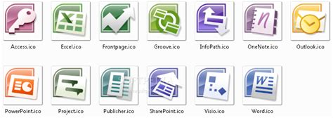 Microsoft Office Pack Ms Office 2007 Icons Pack