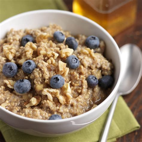 blueberry oatmeal with cinnamon walnuts driscoll s