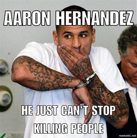 Aaron Hernandez Memes - social media reacts to aaron hernandez taking his own life