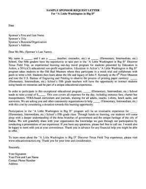 sample letter business opportunity edit