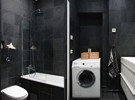 Laundry Room Bathroom by Back To Modern Swedish Apartment With Snazzy Scandinavian