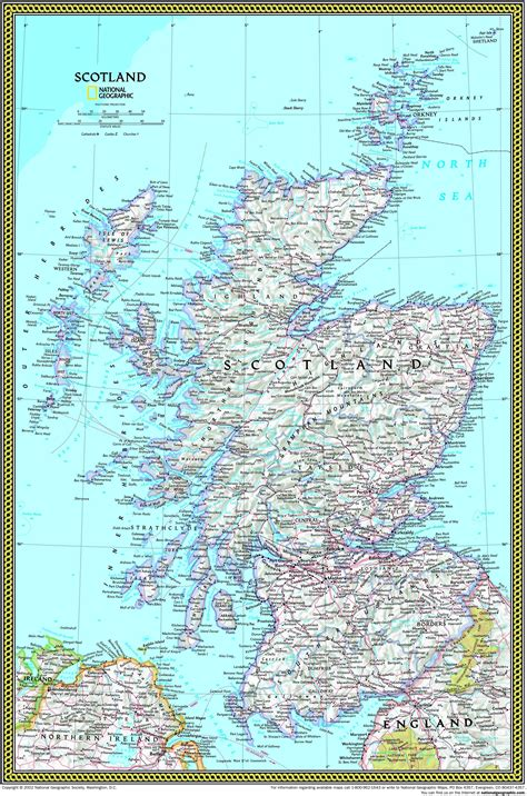scotland mapping the nation 1780270917 scotland atlas wall map maps com