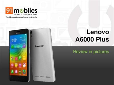 Lenovo A6000 Plus review in pictures