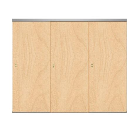 3 panel interior doors home depot unfinished 3 panel sliding doors interior closet