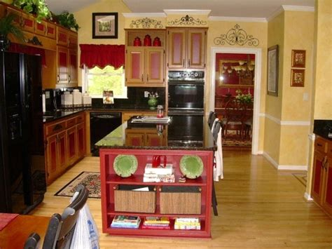 yellow and red kitchens red and yellow kitchen really cute paint ideas