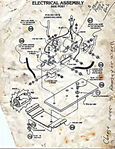 winch switch wiring diagram atv get free image about