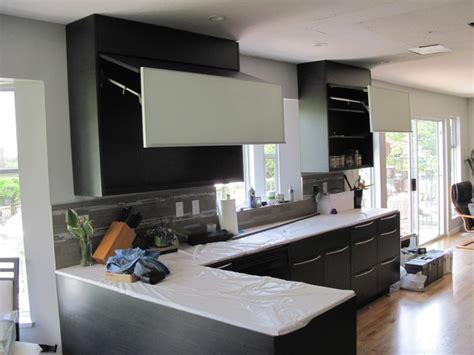 flat panel oak kitchen cabinets ebony oak kitchen cabinets quicua com