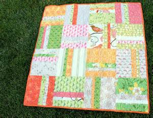 mei mei fabrics beginner simple stripes quilt tutorial by