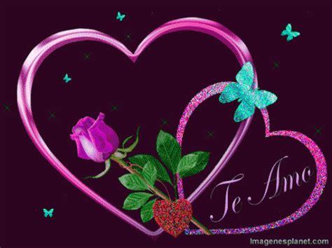 imagenes de amor movibles y brillantes todo corazones cartel de amor corazones bonitos y