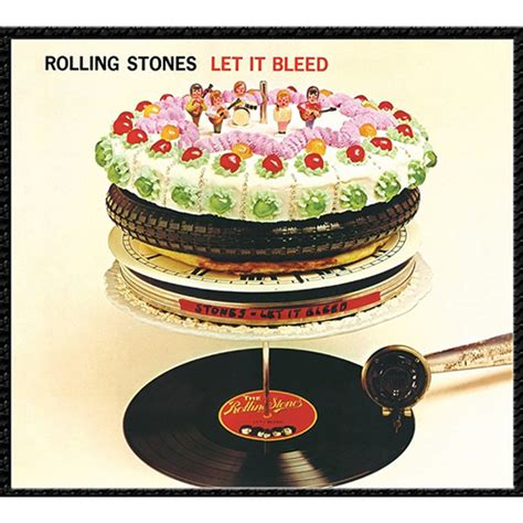 a look back at rolling stones let it bleed the rolling stones let it bleed 180g clear vinyl lp shop music direct