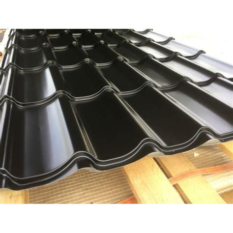 prix m2 tuile panneau tuile coloris noir pour toiture m 233 tallique prix